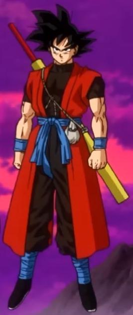 Xeno Gokuu0027s outfit as a Time Patroller & Goku: Xeno | Dragon Ball Wiki | FANDOM powered by Wikia