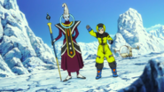 Bulma and whis in broly