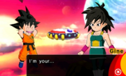 DB Fusions Sub-Event - Unlikey Pair Gine & Goku - I'm your... Mother! (Cutscene)