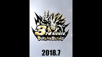 DRAGON BALL Z DOKKAN BATTLE 3rd Anniversary Video