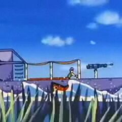 L'hoverboard del Colonnello Violet.