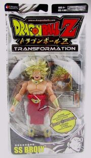 Jakks Pacific Dragon Ball Z Transformations SS Broly