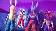 SDBH Big Bang Mission 5 (BM5) God of Destruction Hero Avatars (God of Destruction Elite, God of Destruction Hero, & God of Destruction Berserker) vs Saiyan Hero Beat (Ultra Instinct Sign)