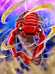 Dokkan Battle Boss Rudeeze Desert Antlion Scorpulon card (Story Event Desert Rescue! Giru Saves the Day! - Scorpulon SR)