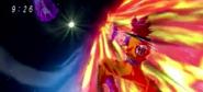 Goku vs Bills choque de energia