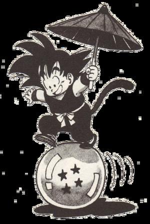 Son Goku jung Manga