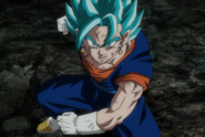 Vegetto Blue Fighting Pose