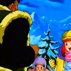 Il Villaggio Jingle in Dragon Ball GT.