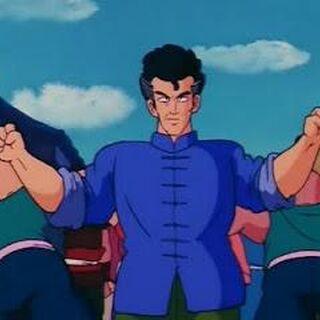 Chin Taiken contro i tirapiedi di Hyoga.