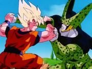 Goku SSJMP vs Cell Perfecto