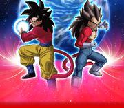 Goku Vegeta SS4
