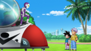 Jaco meets young Saiyans