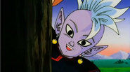 The Evil of Men - Supreme Kai in a tree