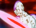 Frieza Defeated!! - Frieza notices