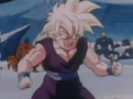 Gohan about to be attack by some monsters