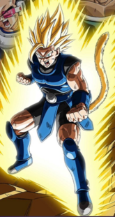 Shallot Super Saiyan artwork