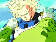 Trunks vs cell 7