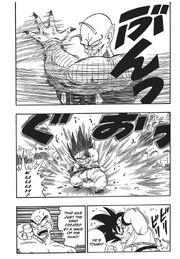 Demon King Piccolo displays his full power on Goku