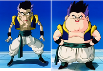 Gotenks gordo y flaco