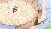 Piccolo mostra la sua potenza