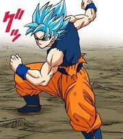 Super Saiyan Blue definitivo