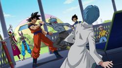 Trunks Goku is Black