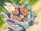 Son Goku Super Saiyan vs. Freezer 100% de Poder