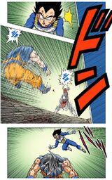 Goku Ultra Instinct runs out
