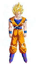 Goku super sayan 2