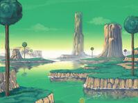 Namek landscape