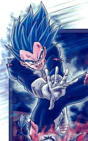 SSGSSE Vegeta manga color
