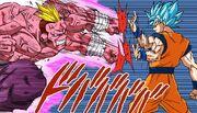 Son Goku ssb vs Saganbo