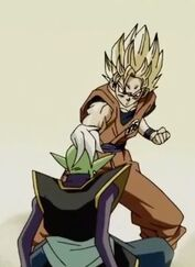 Son Goku ssj 2 vs Zamasu