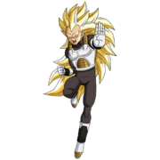 Vegeta - Xeno (Super Saiyan 3) (Artwork)