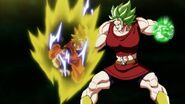 Kale Berserker Vs Goku SSJ2