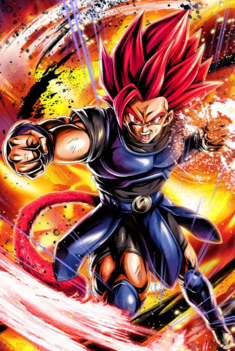 Shallot como Supersaiyano Dios artwork