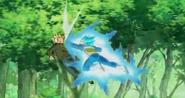 Vegeta golpea varias veces a Trunks (DBS) - Dragon Ball Wiki