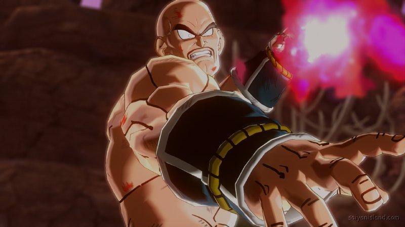 DBXV Gohan Piccolo VS Nappa Epic Sacrifice Charging His Bomber DX Return Of The Saiyans Saga 1212 01
