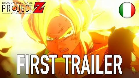 Dragon Ball Game Project Z - PS4 XB1 PC - First Trailer (italiano)