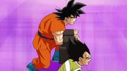 Goku Vegeta cagando