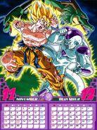 Calendario 2011 (mes 11 y 12)