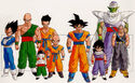 Dragon Ball Main Characters in the Androids Saga by Akira Toriyama