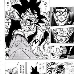 Son Goku trafitto da Molo.