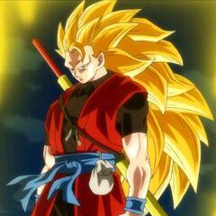 Son Goku (Xeno) Super Saiyan 3.