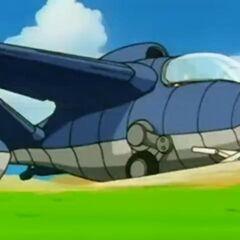 L'aereo di Chichi.