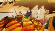 DBZ Kakarot - Goku mangia