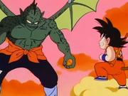 Tamburello contro Son Goku