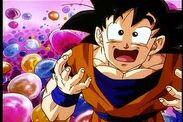 Goku fascinado