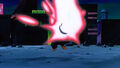 Gohan Hit By Evil Comet