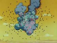 La fortaleza voladora es atacada